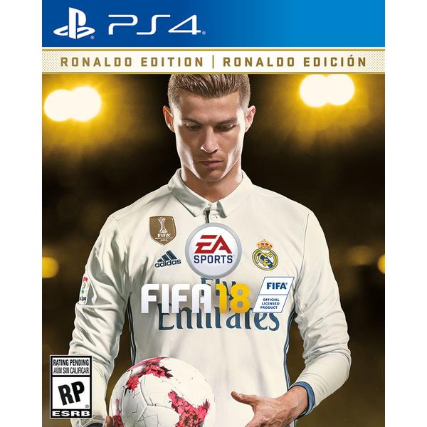 Fifa 18 Deluxe Ronaldo Edition - PS4 (CD18485)