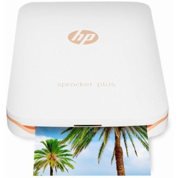 Hp Sprocket Plus Photo Printer - White (2FR85A)