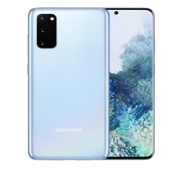 """SAMSUNG MOBILE PHONE S20 , OCTA CORE , 6.2"""" 128GB LTE, LIGHT BLUE (SMG980W-128GBLB-PO) PRE -ORDER"""