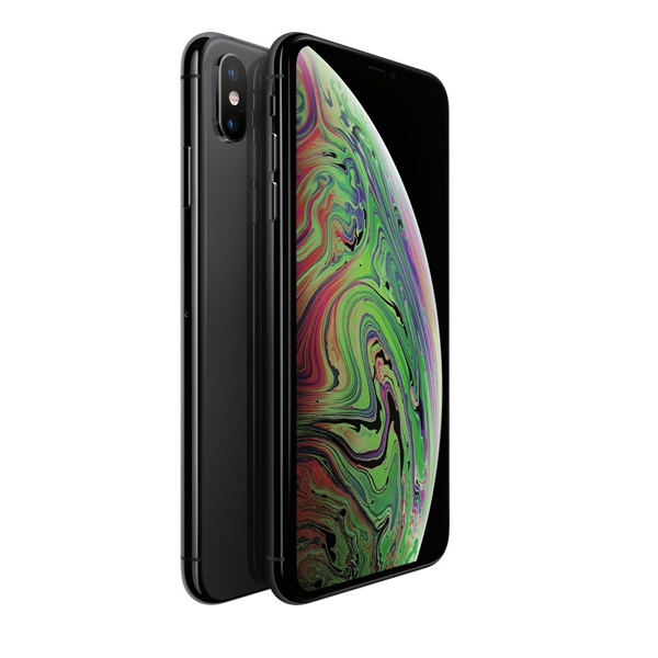 Apple iPhone Xs Max 64GB Smartphone, Space Grey (MT502AE/A)