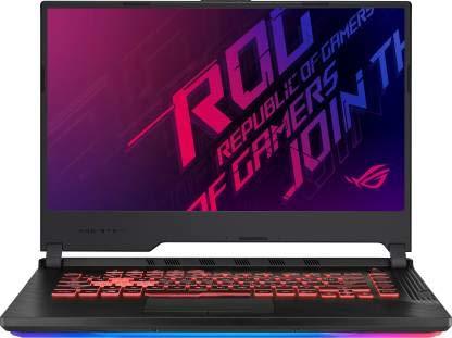 Asus ROG Strix G G531GT-BQ124T 90NR01L3-M07590 Core i5 9th Gen Windows 10 Home Gaming Laptop 8 GB RAM, 1 TB SSD, NVIDIA Geforce GTX 1650 + 4 GB Graphics, 39.62cm, Black