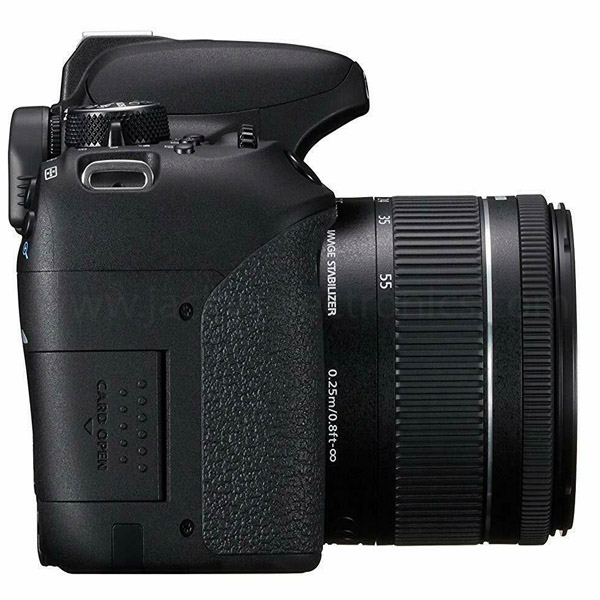 Canon Camera Digital, 24MP,18-55 IS STM,FULL HD VIDEO,WIFI/NFC (EOS800DKIT)
