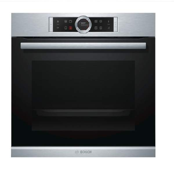 Bosch Serie 8 Stainless Steel Built-In Oven (HBG655BS1M)
