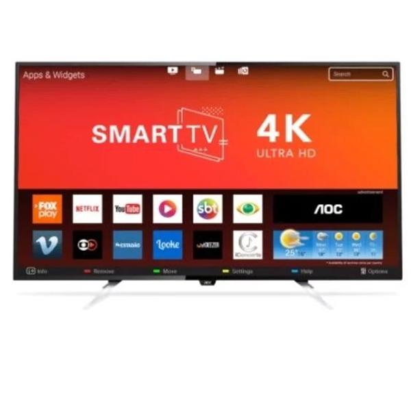 """AOC 50"""" ULTRA HD SMART LED TELEVISION (50U6285/56T)"""