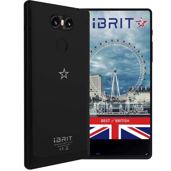 iBrit Horizon Dual SIM Smartphone - Black (HORIZONW-B)