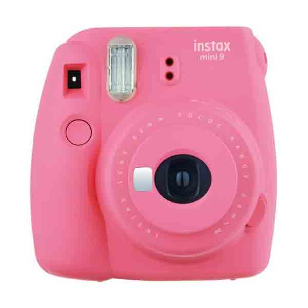 Intax Mini 9 Flamingo Pink (INSTAXMINI9-FP) + Instax Film Single Pack