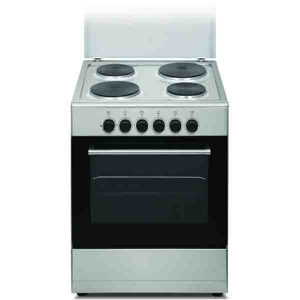 Wolf Power Electric Cooker With 4 Hot Plate Cooker, Silver - WGC6060HERMF