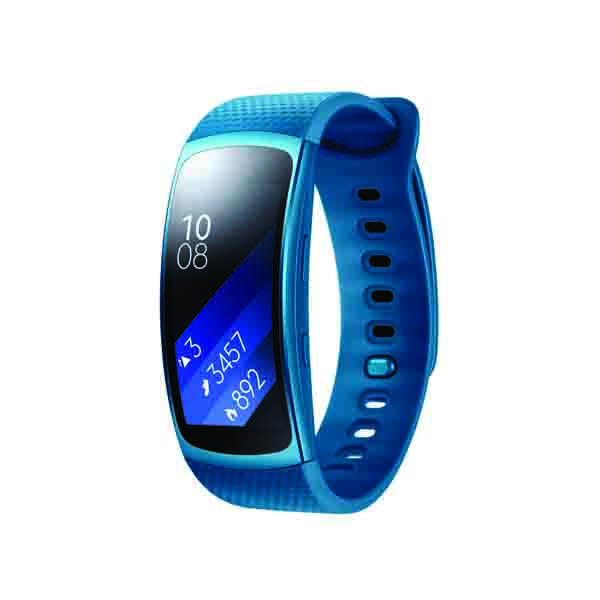 Samsung Gear Fit2 Large, Blue (SM-R3600ZBAXSG)