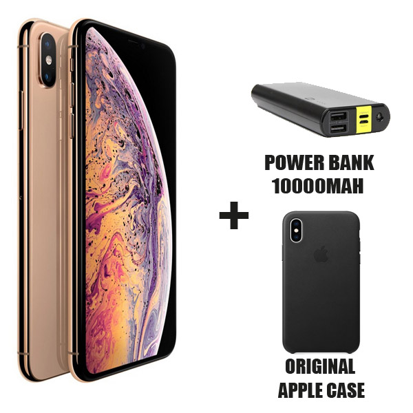 Apple iPhone Xs 64GB Smartphone, Gold (MT9G2AE/A)