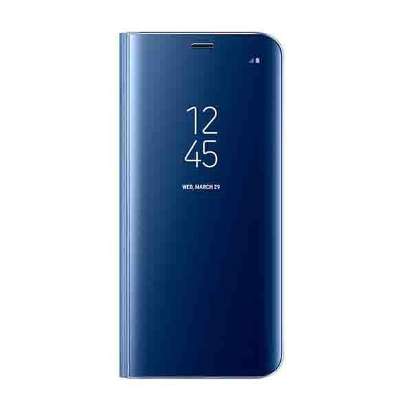 Samsung Galaxy S8 Clear View Standing Cover Blue (EF-ZG950CLEGWW)