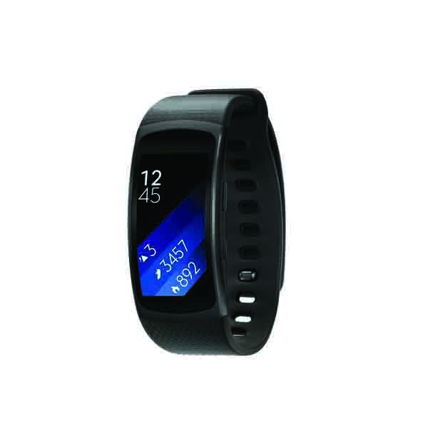 Samsung Gear Fit2 Small, Black (SM-R3600DANXSG)