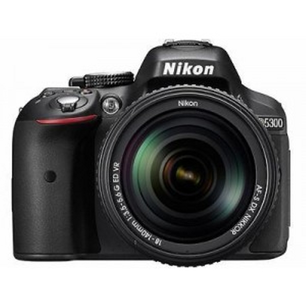 Nikon DSLR  D5300 with 18-55NVR (D5300BK)