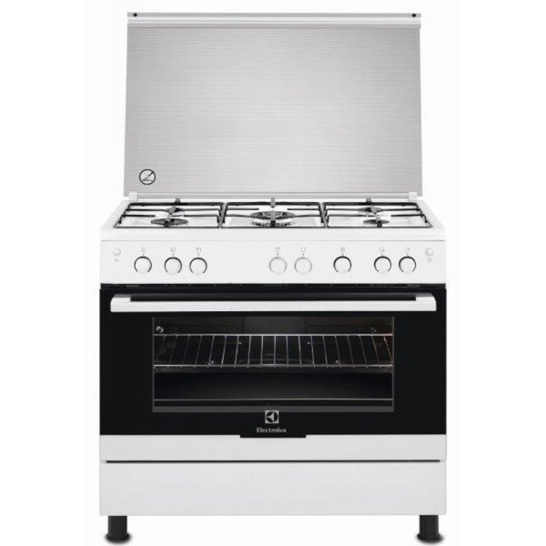 Electrolux Cooker Gas Oven and Hob 5 Burner(EKG911A1OW)