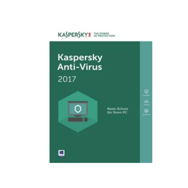 Kaspersky Antivirus 2017 (KAV4PCRT2017)