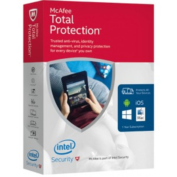 MCAFEE TOTAL PROTECTION 2016 MACTP2016U