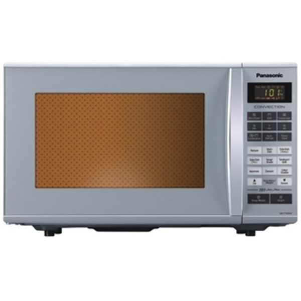 Panasonic Microwave 27L Convection, 900W Microwave Power & 1400W Grill, Wide 315mm Turn Table, 101 Auto Cook Menu, 64 Indian Menus  (NNCT651M)