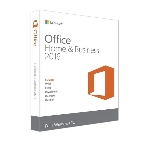 Microsoft Office Home and Business 2016 32-BIT-X64 English Mideast EM DVD (T5D-02362)