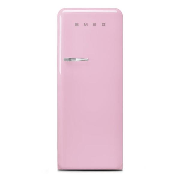 Smeg Single Door Refrigerator 248 Litres, Pink (FAB28RPK3GA)