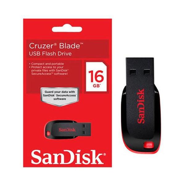 Sandisk Cruzer Blade 64GB Flash Drive (SDCZ50-0.