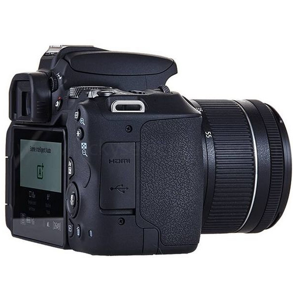 Canon EOS 200D DSLR Camera With EF-S 18-55 mm Lens Kit (EOS200D-EC)