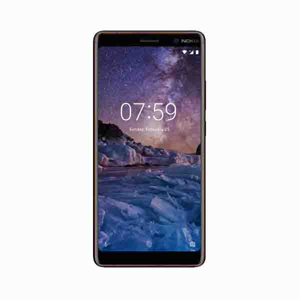 NOKIA 7 PLUS 64GB 4G DUAL SIM, BLACK (11B2NBW1A05)