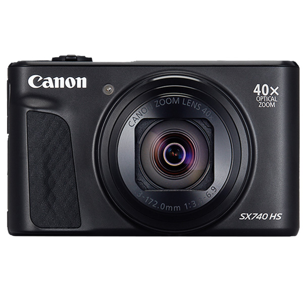 Canon Digital Camera, Power Shot SX740 HS Black , 20.3 MP HS System 40X Optical Zoom, Black (PSSX740HSBK)