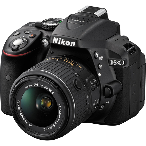 Nikon D5300 Digital Camera 18-55MM - Black (D5300-G)