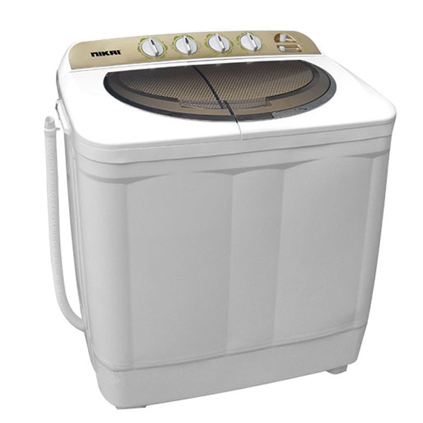 Nikai Semi Automatic Top Loading Washing Machine 11Kg (NWM1101SPN3)