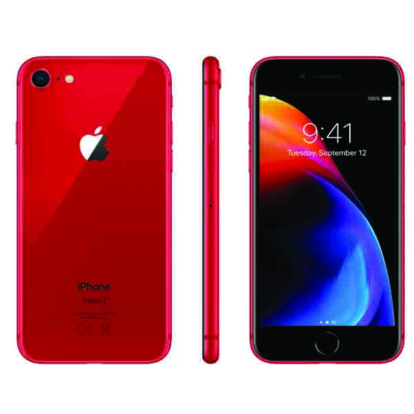 Apple iphone 8 64GB - Red Edition (MRRM2-EC)