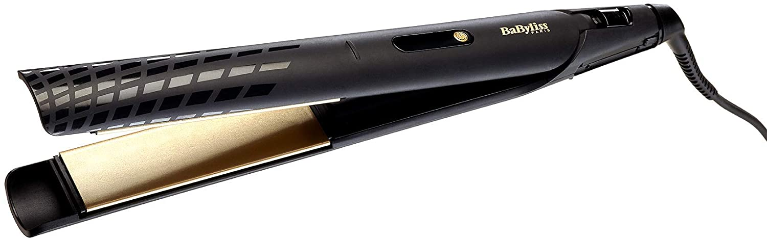 BaByliss BABST430SDE Hair Straightener 3 Temperature LCD, 35mm - Gold