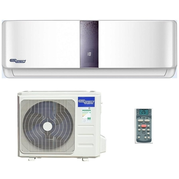 Super General 18000 BTU 1.5 Ton Split Air Conditioner with Piston Compressor (SGS191HE)