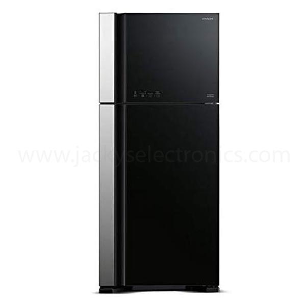 Hitachi 720ltr Super Big Glass Refrigerator (RVG720PUK5GBK)