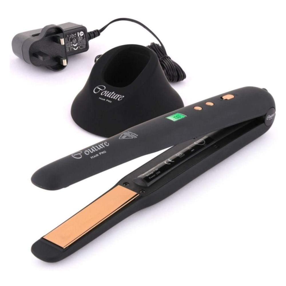 COUTURE PARIS PRO WIRELESS HAIR STRAIGHTNER CPHSWLBLKSS (CPHSWLBLKSS1410100036) CP30743
