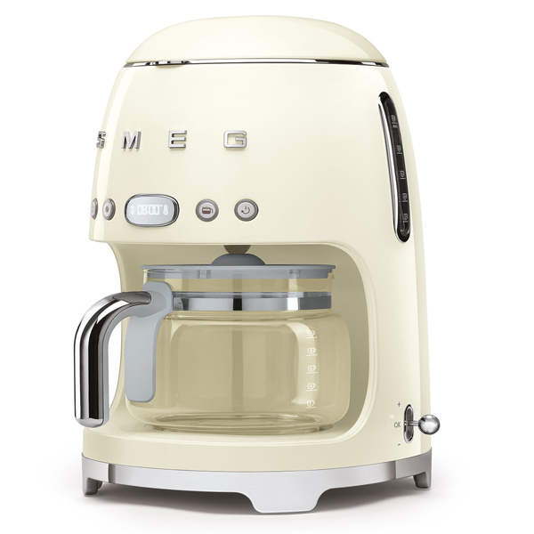 Smeg Drip Filter Coffee Machine Cream (DCF02CRUK)