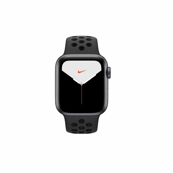 APPLE WATCH NIKE SERIES 5 GPS, 40MM SPACE GREY ALUMINIUM CASE WITH ANTHRACITE/BLACK NIKE SPORT BAND (MX3T2AE/A)