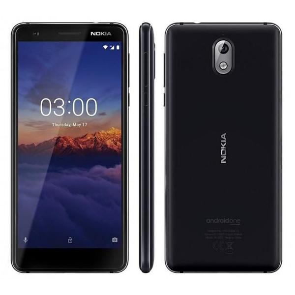 NOKIA MOBILE PHONE / NOKIA 3.1 TA-1063 2/16-11ES2B21A17 -BLACK (NOKIA3-1W-BK)
