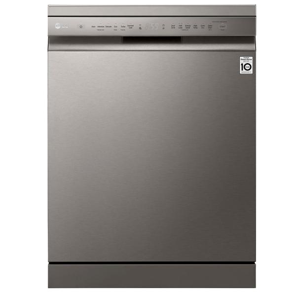 LG QuadWash Dishwasher, 14 Place Settings, EasyRack Plus, Inverter Direct Drive, SmartThinQ (DFB512FP)