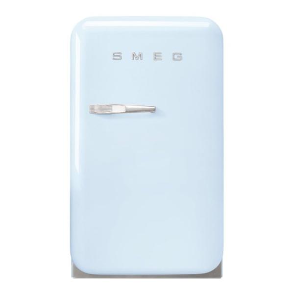 Smeg FAB5RPB3GA Single Door Refrigerator Retro Style Pastel Blue, 38 Litres (FAB5RPB3GA)
