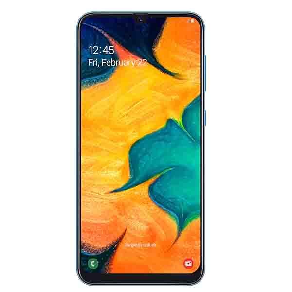 Samsung Galaxy A30, 64GB, Ramen Octa Core 1.8GHz  Blue (SM-A305BLU-EC)