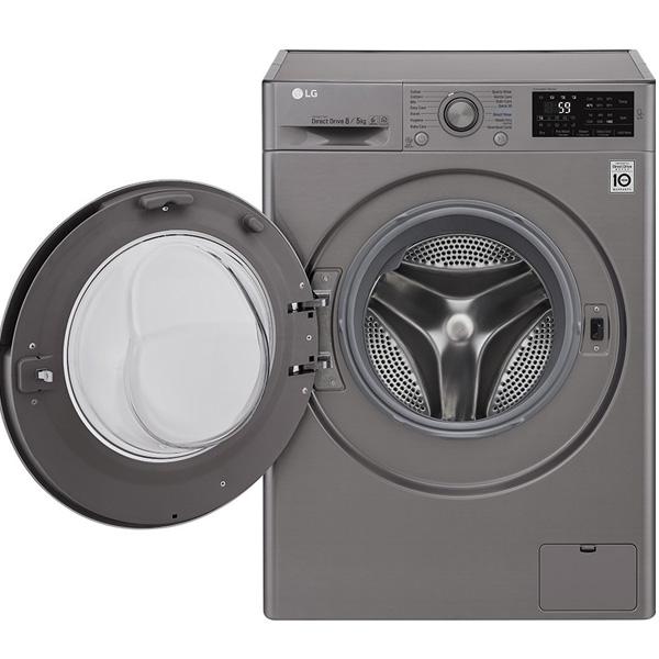 LG 6Kg Front Loading Washing Machine (F2J5NNP7S)