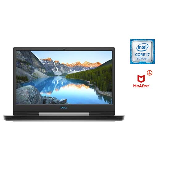 """Dell G5-E1278 i7-9750H/16GB/1 TB+256 SSD SSD/NVIDIA GeForce GTX 1660Ti 6GB GDDR6/15.6"""" FHD Windows 10/Black (G5-E1278-BLK) Pre-loaded Mcafee"""