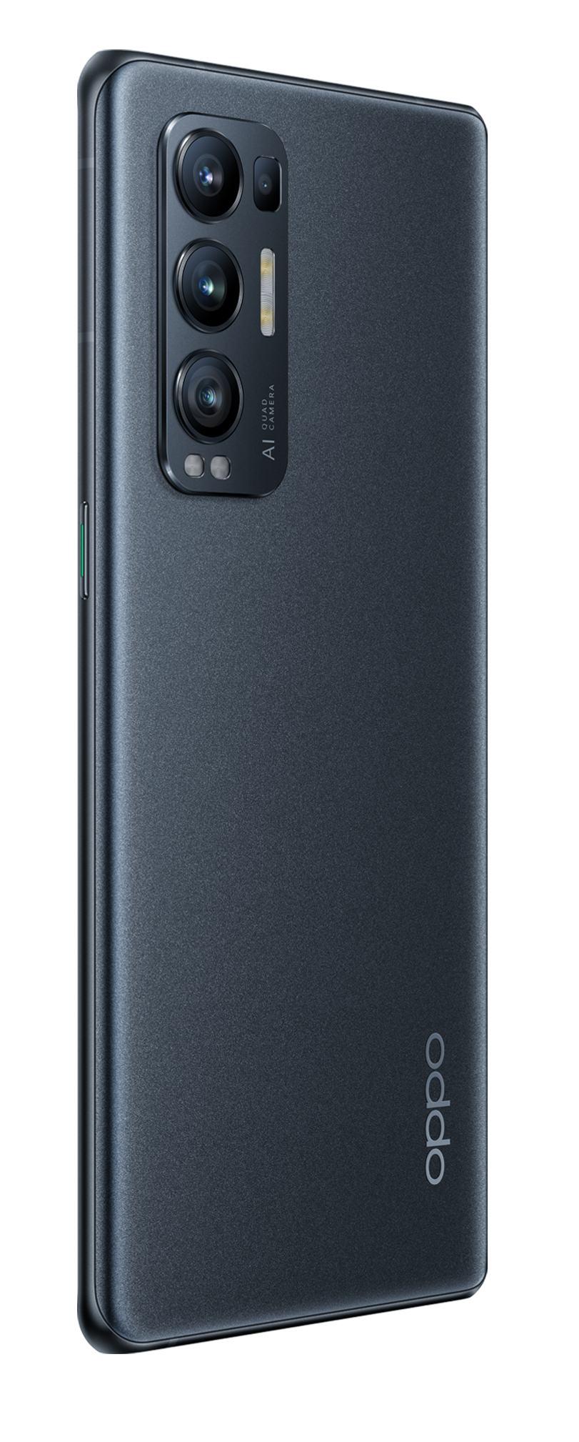 OPPO Reno5 Pro 5G RAM 12GB+256GB Starlight Black, RENO5PRO-256BK, CPH2207