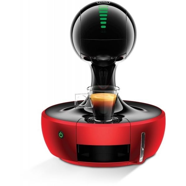 Nescafe Dolce Gusto Drop Coffee Machine, Red (DROP-RED)