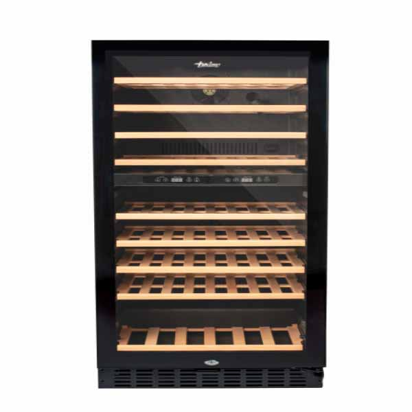Terim 76 bottles Beverage Cooler,225 L , Dual Temperature Zone (TERBC76DZ)