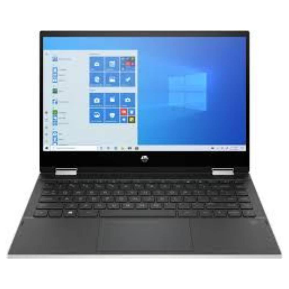HP PAVILION X360 CORE I3 10TH GEN, 8GB RAM, 128GB SSD, INTEL UHD GRAPHICS, 14 INCH SCREEN, WIN 10, 2 IN 1 TOUCHSCREEN, SILVER, 14M-DW0013