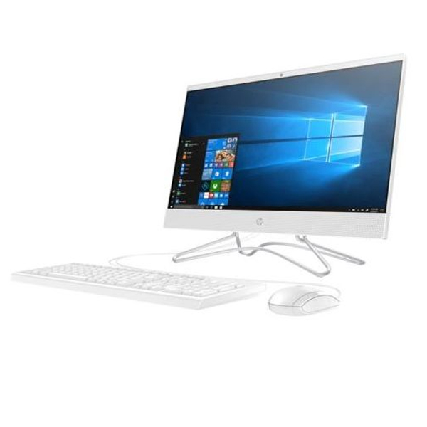 HP All-in-One Desktop – Core i5 1.8GHz 8GB 512GB SSD, 2GB Win10 22inch FHD Snow White (22-C0021)