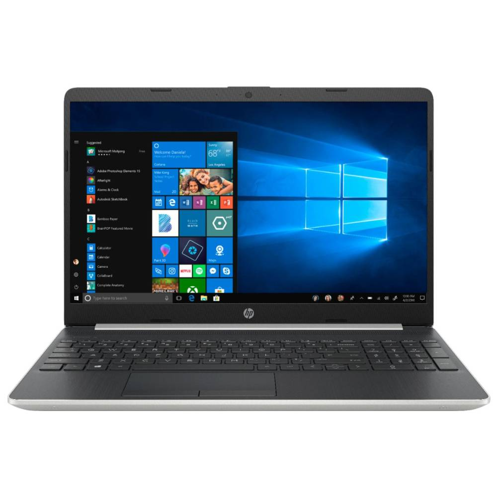 HP Core i5 10th Gen 8GB RAM 256GB SSD UHD Graphics 15.6 Inch Screen Windows 10 Silver Notebook 15-DY1045