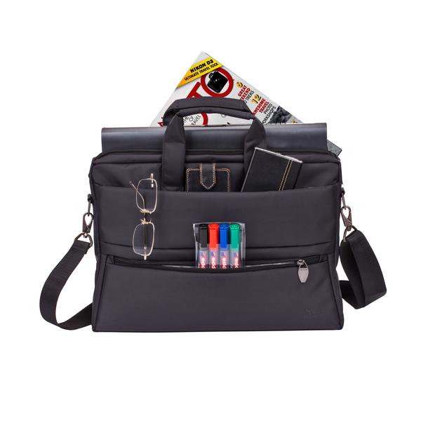 RIVACASE LAPTOP BAG 15.6 BLACK (RIVA-8231BK)