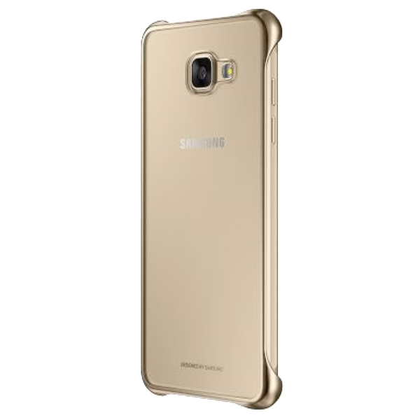 SAMSUNG CLEAR COVER / FOR GALAXY A5 (2016), GOLD (SS-A5-2016-CBC-GOLD)