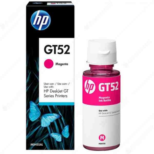 HP GT52 Magenta Original Ink Bottle M0H55AE